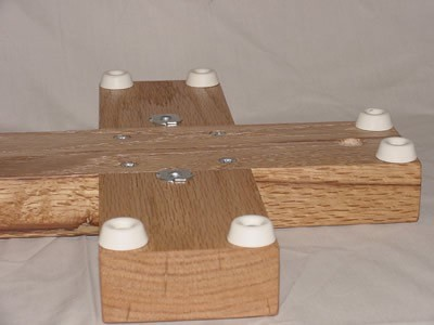 the ultimate woodwind doubler's stand, instrument stand base, oak,