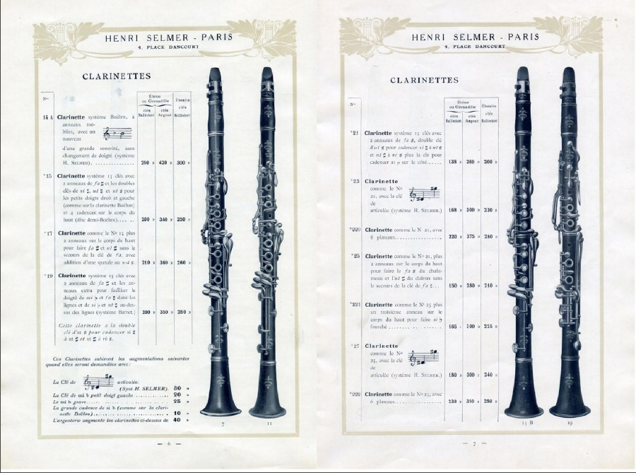 Selmer Clarinet Serial Numbers Chart Tulum Smsender Co