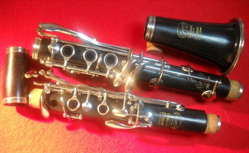 Serial selmer numbers clarinet Selmer Bundy