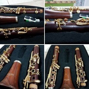 "Conn Pan American ""Propeller Wood""  (""Violin Finish"") Clarinet"