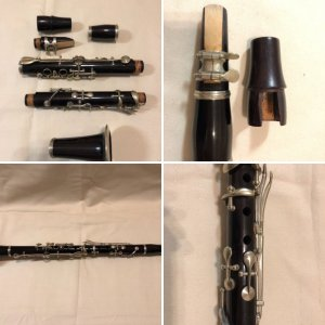 Detmering (Hamburg, Germany) Clarinet