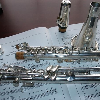 Selmer Paris Silver clarinet with tuner barrel