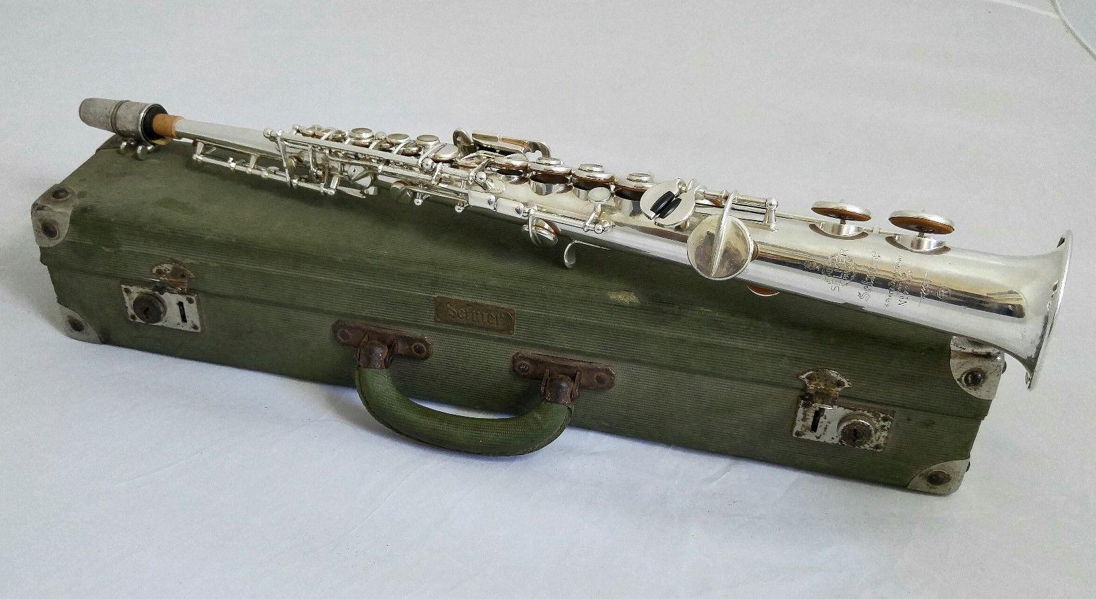 Selmer Mark VI C Soprano on eBay | The Woodwind Forum